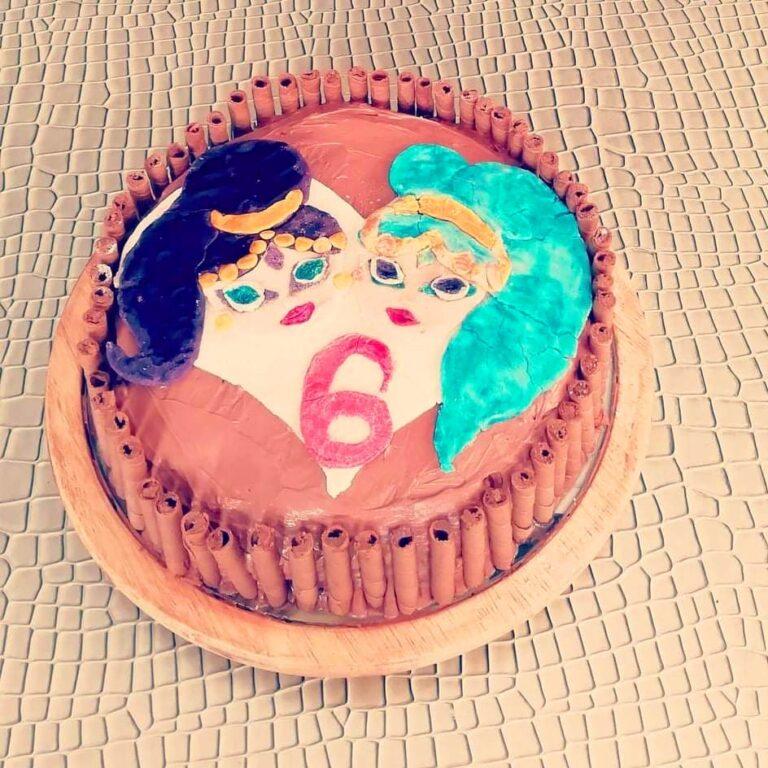 Торта Искрица и Сияйница