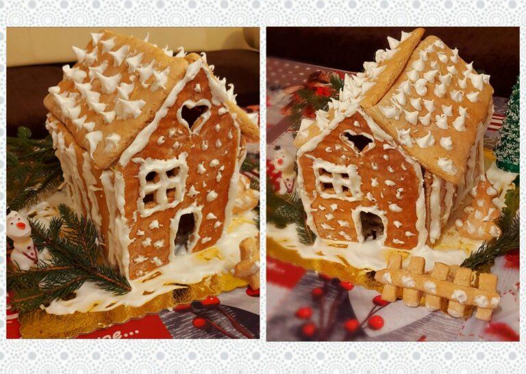 Коледна Джинджифилова Къщичка